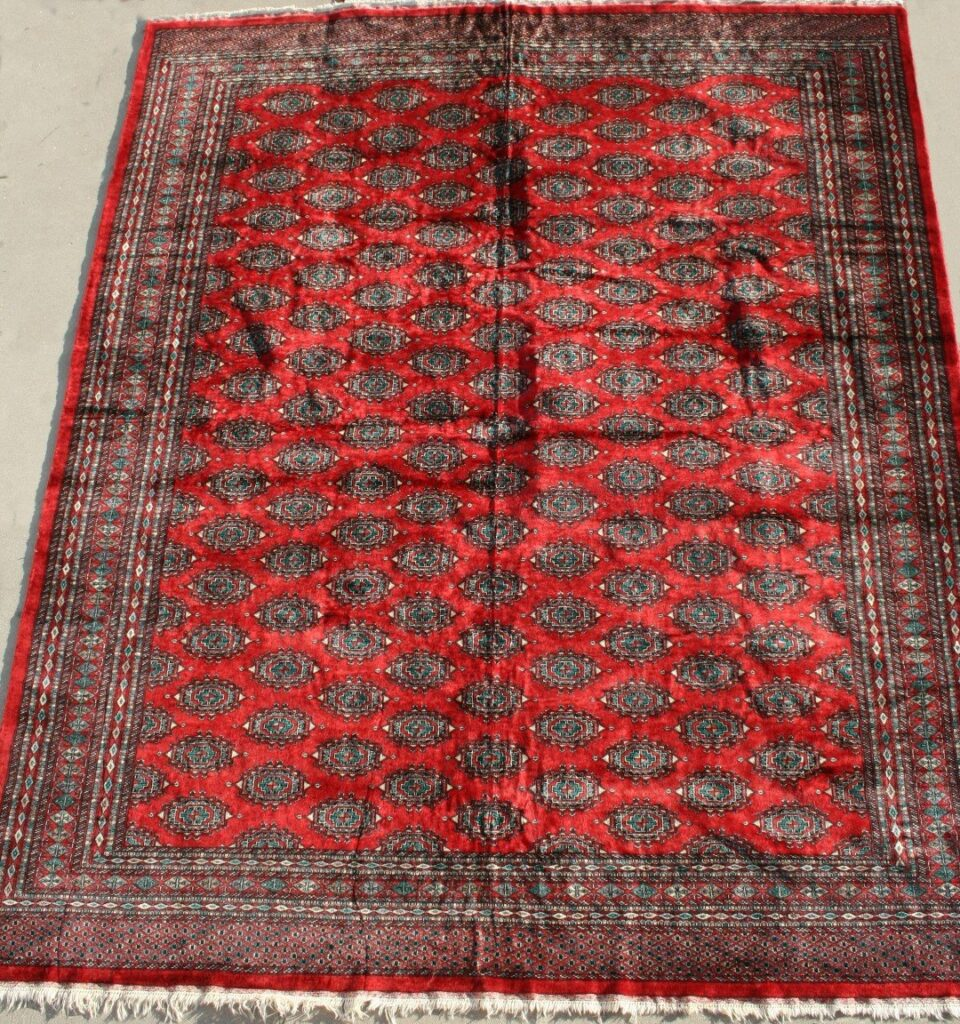 Pakistan Lahore Hand-knotted Rug Wool on Cotton