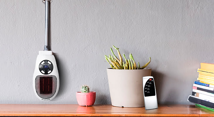 Heater Pro X on the wall