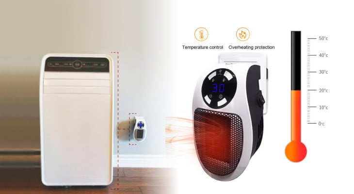 The compact portable Heater Pro X