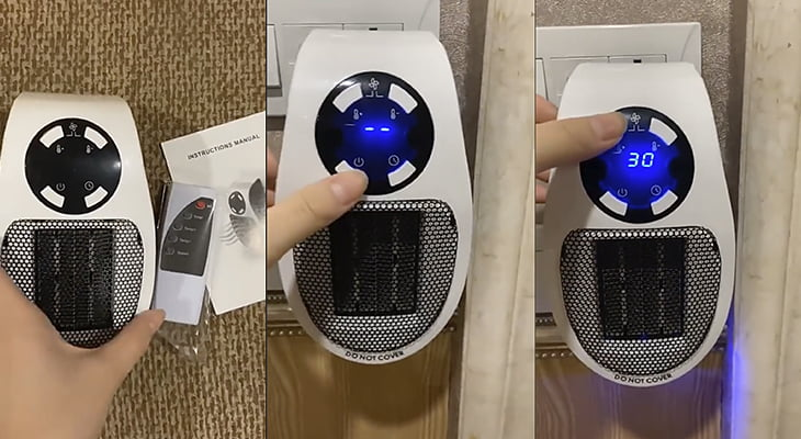 Heater Pro X with Remote Control